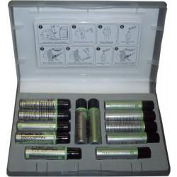 Nanokeratin NANO HYDRATE Tratammento (Caja con 12 Phials) - Para Cabello muy Dañado y Roto