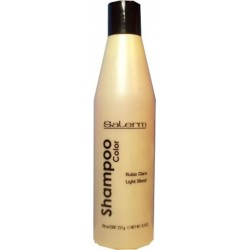 Salerm Shampoo Color Rubio Claro 250 ml / 9.0 Oz.