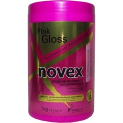 Embelleze Novex Pink Gloss Extra Deep Hair Care Cream 35oz(For dull hair and lifeless)