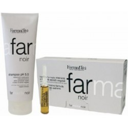 Farmavita Noir Intensive Hair Loss Treatment 1)Shampoo 250ml 1)Lotion 12 Phials