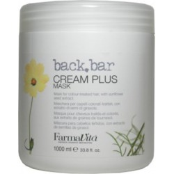 Farmavita back.bar Cream Plus Máscara 1000ml/33.8oz (para cabello teñido)