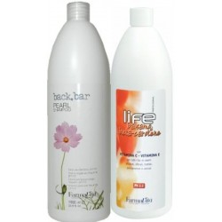 Farmavita (1)Champú Perla 1000ml (1)Balsamo Beta Carotene 1000ml
