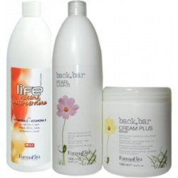 Farmavita (1)Champú Perla 1000ml 1)Balsamo Beta Carotene 1000ml (1)Cream Plus Mask 1000ml