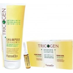 Farmavita Tricogen Treatment (1)Tricogen Shampoo 250 ml (1)Tricogen Lotion 12x8 ml Phials