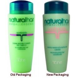 Tahe Natural Hair Acondicionador y Tratamiento De Hierbas re-estructurante del cabello 250 ml.