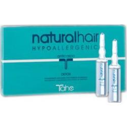 Tahe Natural-Hair Detox Anti-Caspa Concentrado con Extracto de Bardana (Caja de 10 viales)
