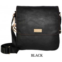 DIDA NY Style 95658 Men's Messenger Black *SALE*