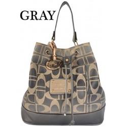 DIDA NY Style 95653 Gray Handbag