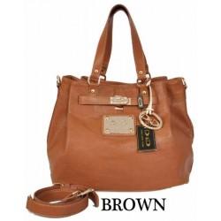 DIDA NY Style 95659 Brown Handbag