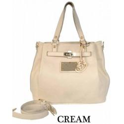 DIDA NY Style 95659 Cream Handbag
