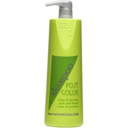 BBCOS Keratin Color Post Color Shampoo 1000ml (Made with Keratin)