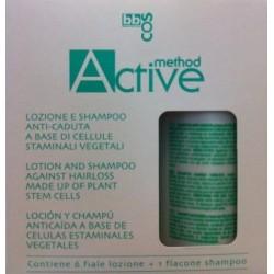 BBCOS Method Active Loción y Champú Anticaída Kit (A Base de Células Estaminales Vegetales)