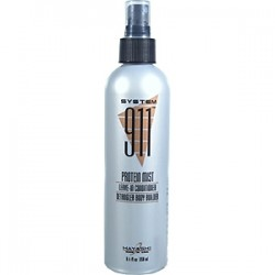 Hayashi System 911 Protein Mist Leave In Conditioner Detangler Body Builder 8.4oz/250ml