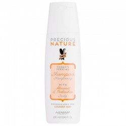 Alfaparf Precious Nature Shampoo With Almond & Pistachio 250ml/ 8.45 Oz (Colored Hair)