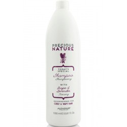 Alfaparf Precious Nature Shampoo With Grape & Lavender 1000ml/ 33.81 Oz (Curly & Wavy Hair)