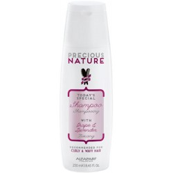 Alfaparf Precious Nature Shampoo With Grape & Lavender 250ml/ 8.45 Oz (Curly & Wavy Hair)