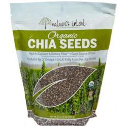 Nature's Intent Organic Semilla De Chia 32 oz