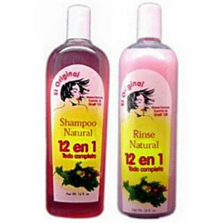 12 in 1 Natural Shampoo and Conditioner 16oz- by Greit 'Oll