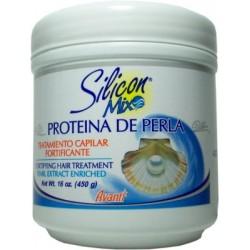 Avanti Silicon Mix Tratamiento Capilar Fortificante Proteína de Perla 16 oz