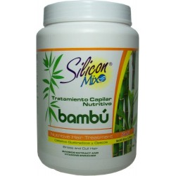 Avanti Slicon Mix Bambu Nutritive Hair Treatment 60oz. (Cabello quebradizo y sin Brillo)