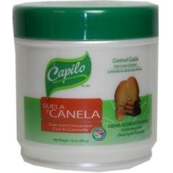 Capilo Sole & Cinnamon Hair Conditioner Cream 16 Oz. (Hair Loss Control