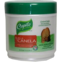 Capilo Suela & Canelo Cream Acondicionadora 16 Oz. (Control De Pérdida de Cabello)