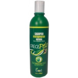CrecePelo Natural Phitoterapeutic Shampoo For Capilar Growth 12 oz.