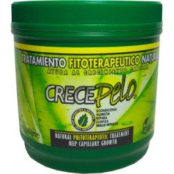 CrecePelo Natural Phitoterapeutic Treatment For Capilar Growth 16oz.