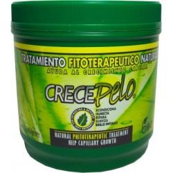 CrecePelo Natural Tratamiento Fitoterapéutico Para El Crecimiento Capilar16oz.