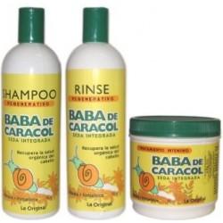 Halka Baba De Caracol (1)Shampoo 16 Oz (1)Rinse 16 Oz (1)Tratamiento Intensivo 16 Oz