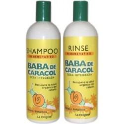 Halka Baba De Caracol (1)Shampoo 16 Oz (1)Rinse 16 Oz Regenerativos