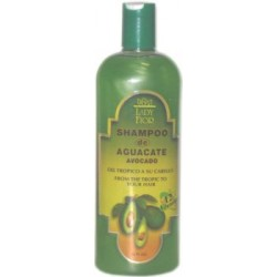 Lady Fior Avocado Shampoo 16 Oz. -12 Vitamins