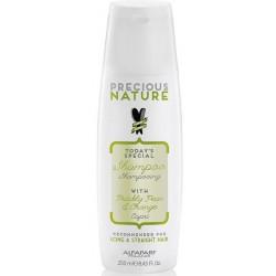 Alfaparf Precious Nature Shampoo With Prickly Pear & Orange Capri 250ml/8.45oz (Long & Straight Hair)