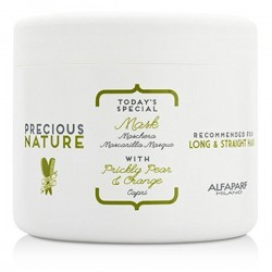 Alfaparf precious Nature Today's Special Mask with Prickly Pear & Orange Capri 500ml/17.28oz (For Long & Straight Hair)
