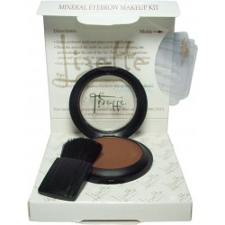 Lizette Water Resistant Mineral Eyebrow Makeup Kit