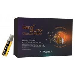 Alfaparf Semi Di Lino Beauty Genesis Elixir Renovador con Células Madre de Argán 12 x 0.44 oz Ampollas