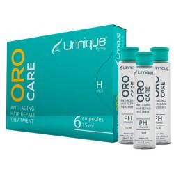 Tiarehair Oro Care Tratamiento Reparación Antienvejecimiento (6 botellas de 15 ml c/u)