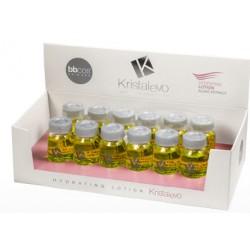 BBCOS Kristal Evo Loción Hidratante Extractos de Alga 12x12ml (Semilla de Lino & Aceite de Argan)