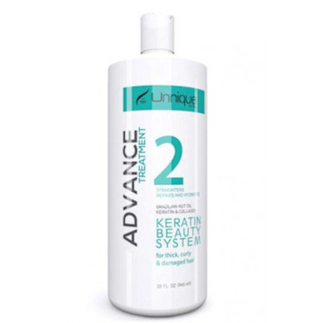 Unnique Advance Keratin Treatment 32 oz. (Step 2)