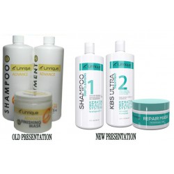 Unnique Advance Keratin Treatment Kit 1)Shampoo 32oz 1)Keratin 32oz 1)Mask 16oz.