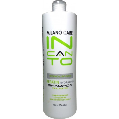 Milano Care Keratin Hydrating Incanto Shampoo Botanical Infusion 100ml/33.8oz