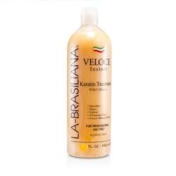 La-Brasiliana Veloce Keratin Treatment with Collagen 4oz
