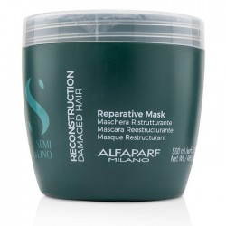 Alfaparf Semi Di Lino Reconstruction Reparative Mask 500ml/16.90oz (For Damaged Hair)