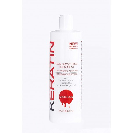Milano Keratin Chocolate Hair Smoothing Treatment 16oz