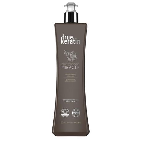 True keratin Moroccan Miracle Shampoo 1000ml/33.8oz