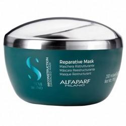 Alfaparf Semi Di Lino Reconstruction Reparative Mask 500ml/16.90oz (For Damaged Hair)