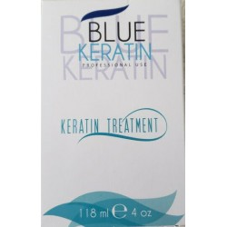 Blue Hair Keratin Kit Tratamiento de Queratina 1)Champú Clarificante 1)Blue Keratin 32oz c/u