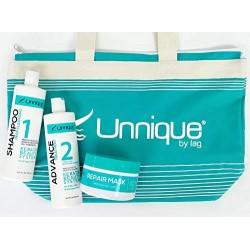 Unnique Advance Keratin Treatment Kit 1)Shampoo 16oz 1)Keratin 16oz 1)Mask 8oz.
