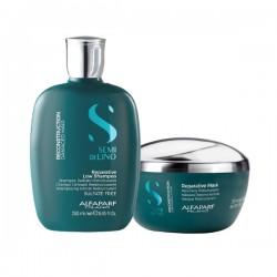 Alfaparf Semi Di Lino Reconstruction Damaged Hair Reparative Low Shampoo 250m