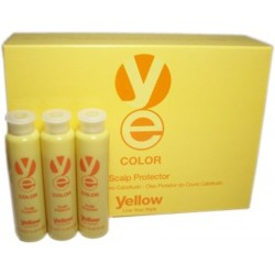 Yellow Color Scalp Protector 12 Vials Of 13 ml.
